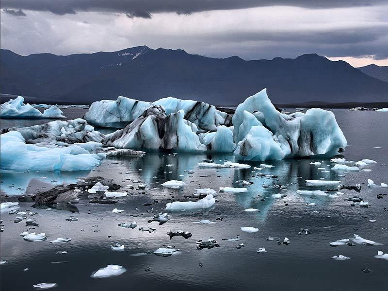 fonte des glaces