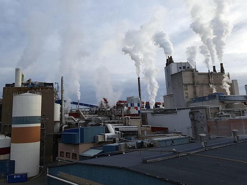 pollution air déchets