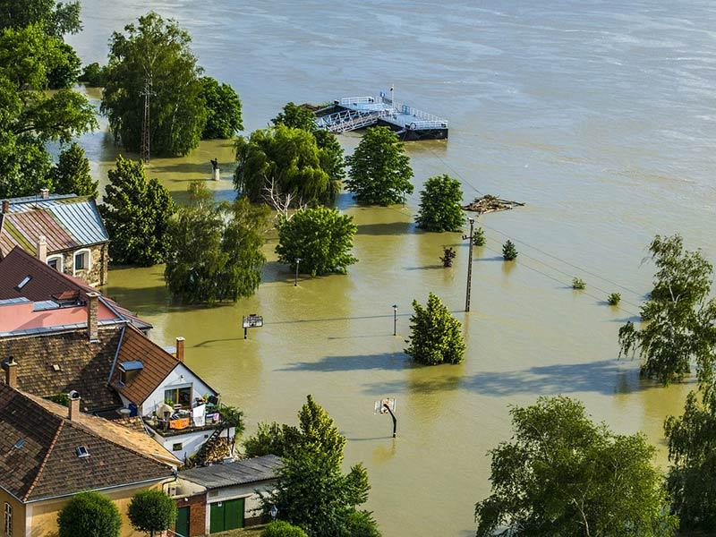 inondations réchauffement climatique