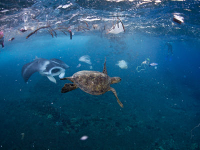 La barge anti-plastiques